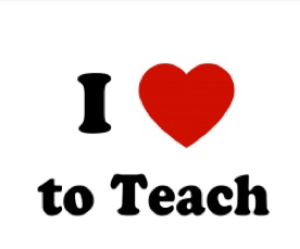 I love to Teach